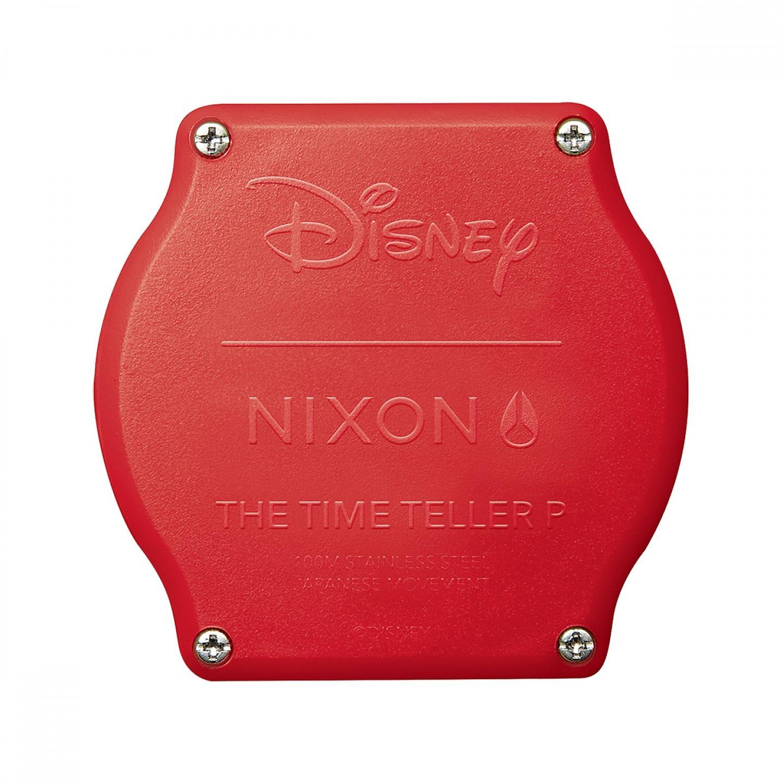 Relógio NIXON Time Teller Vermelho (Mickey)