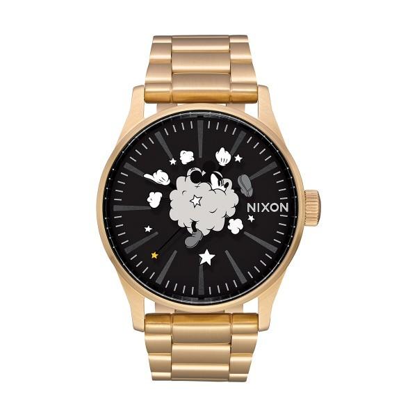 Relógio NIXON Sentry SS Mickey Mouse Dourado A356-3092