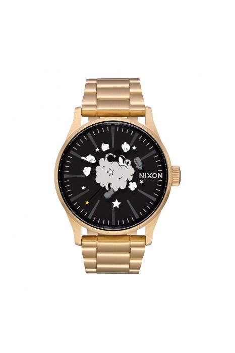 Relógio NIXON Sentry Dourado (Mickey)