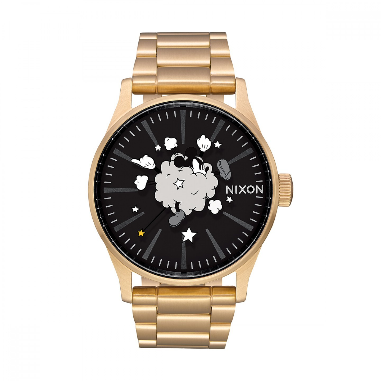 Relógio NIXON Sentry Dourado
