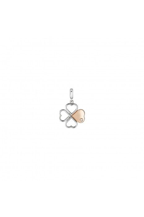 CHARM BOW HAPPY LOVE STORIES CLOVER