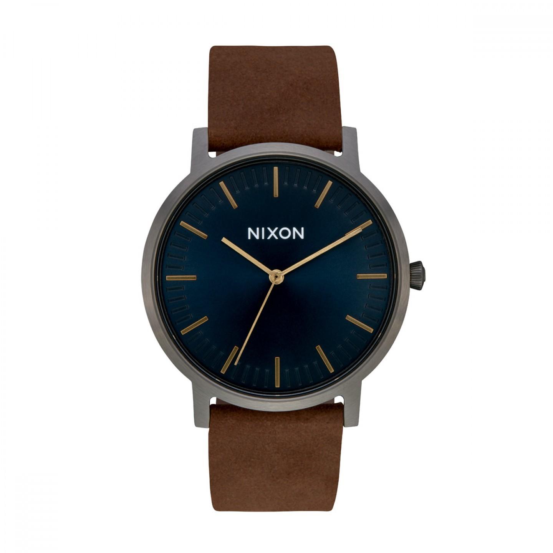 Relógio NIXON Porter Leather Castanho
