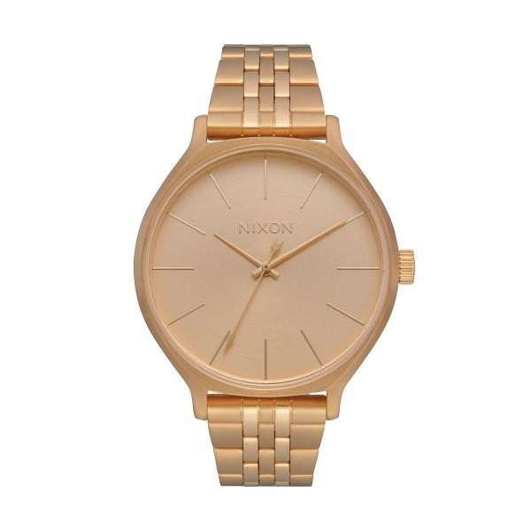 Relógio NIXON Clique Dourado A1249-502