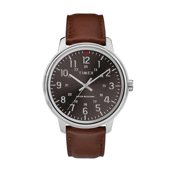 Relógio TIMEX Originals Preto e Castanho TW2R85700