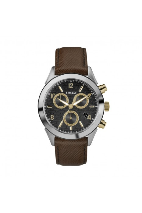 Relógio TIMEX Torrington Chrono Preto e Castanho