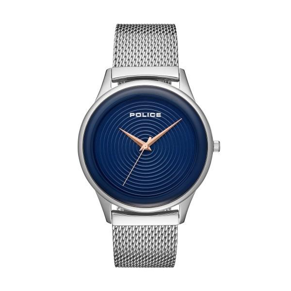 Relógio POLICE Smart Style Prateado P15524JS03MM