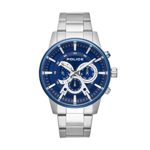 Relógio POLICE Smart Style Prateado P15523JSTBL03M