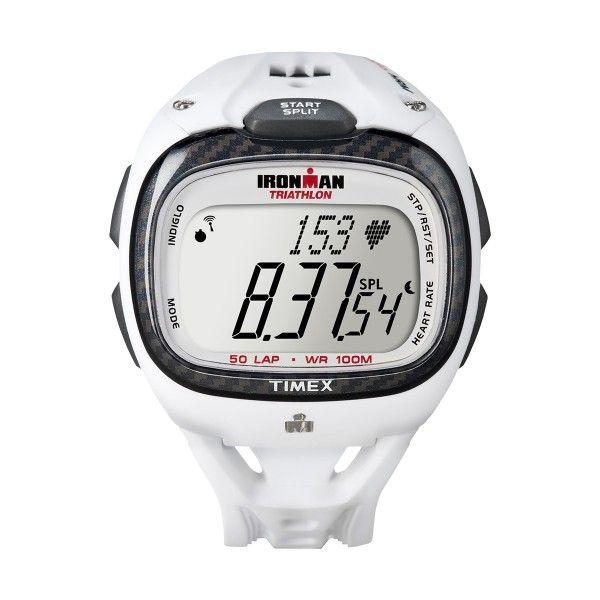 Relógio TIMEX Race Trainer HRM Branco T5K490