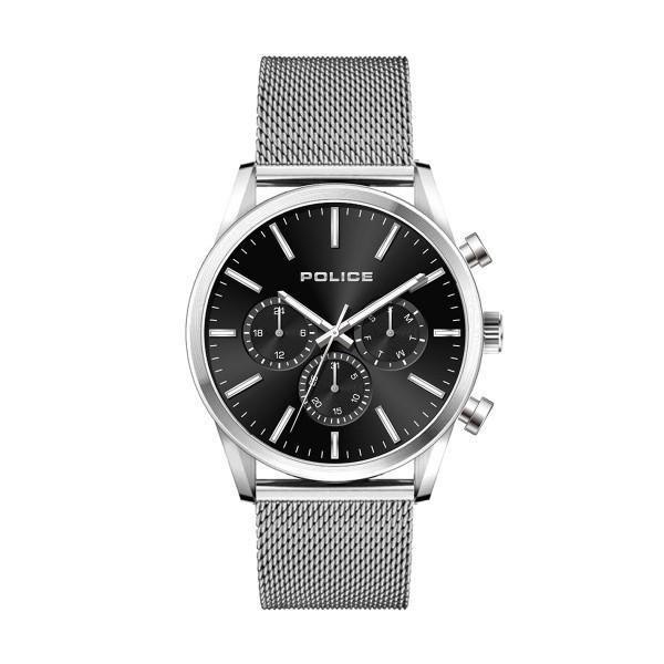 Relógio POLICE Patriot Prateado P15599JS02MM