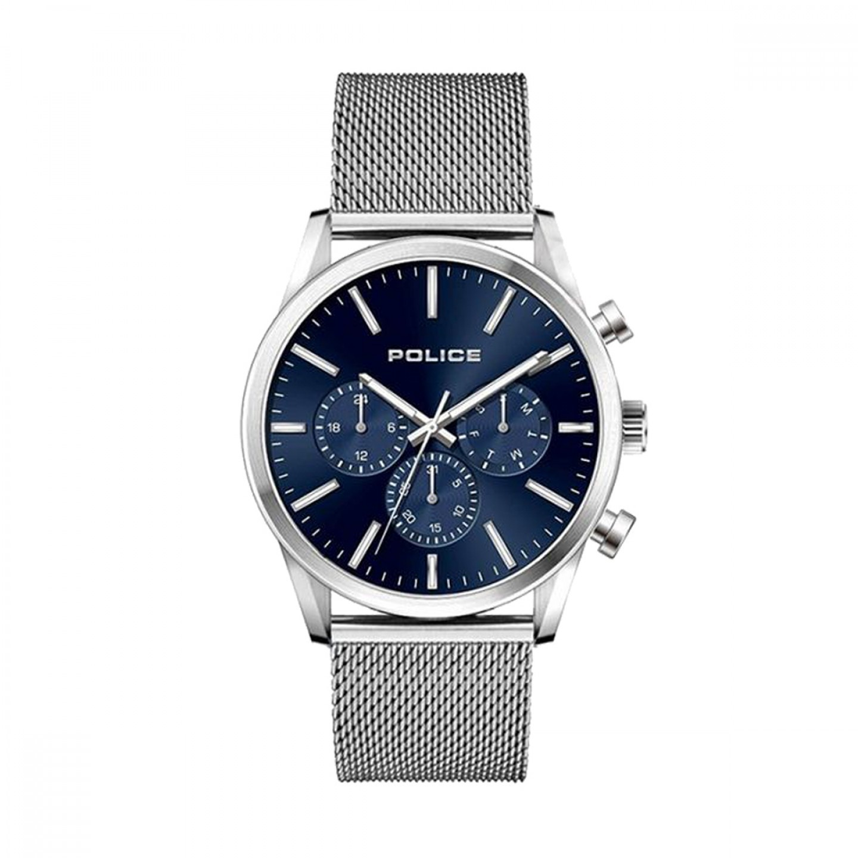 Relógio POLICE Patriot Prateado - P15599JS03MM   Bluebird 8f77263b58