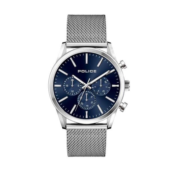 Relógio POLICE Patriot Prateado P15599JS03MM