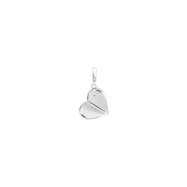 Charm BOW HAPPY Love Stories Heart Silver BH.CH.1110.0002