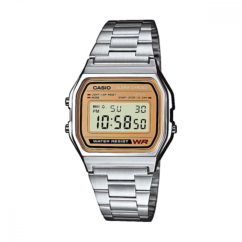 bac2209a567 Relógio CASIO Vintage Prateado - A158WEA-9EF