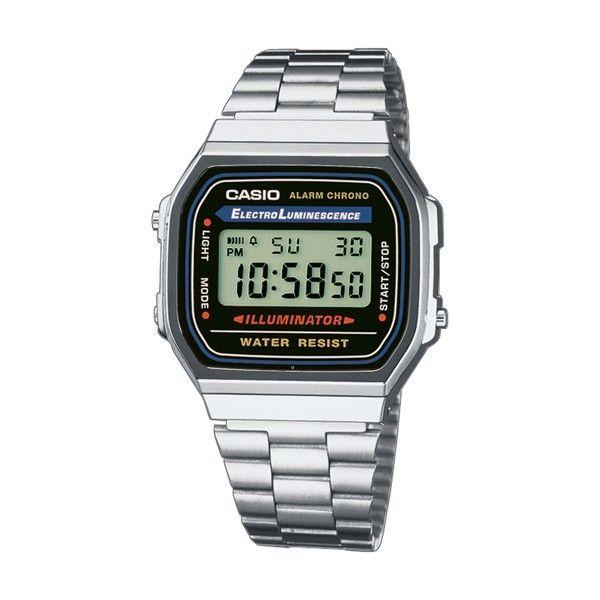 Relógio CASIO Vintage Iconic Prateado A168WA-1YES