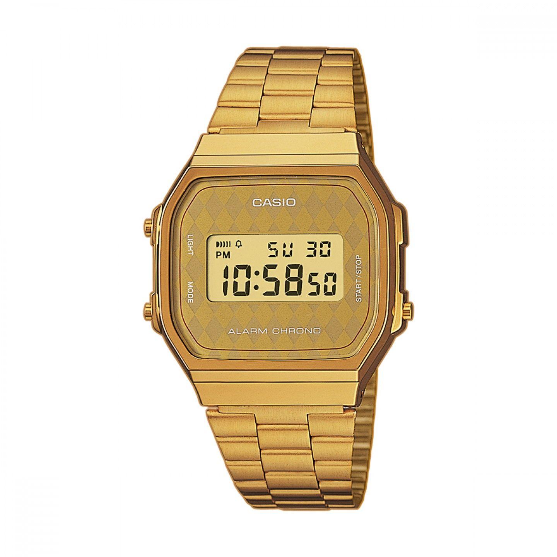 98a9d1c4b31 Relógio CASIO Vintage Dourado - A168WG-9BWEF