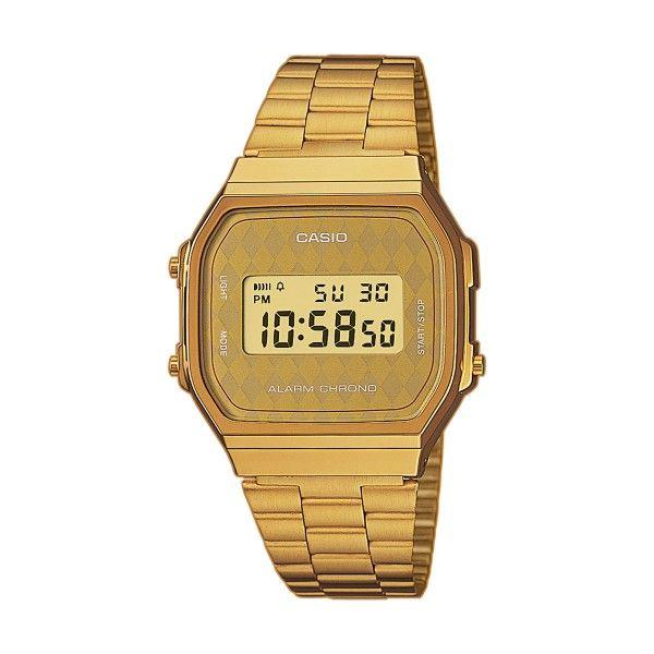 Relógio CASIO Vintage Iconic Dourado A168WG-9BWEF