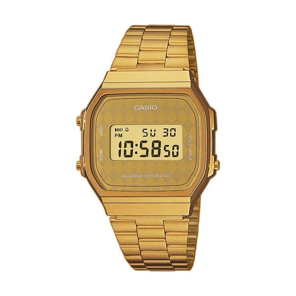 Relógio CASIO Vintage Dourado A168WG-9BWEF