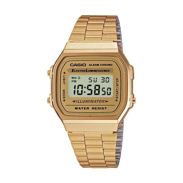 Relógio CASIO Vintage Iconic Dourado A168WG-9EF