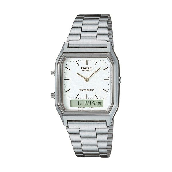 Relógio CASIO Vintage Prateado AQ-230A-7DMQYES