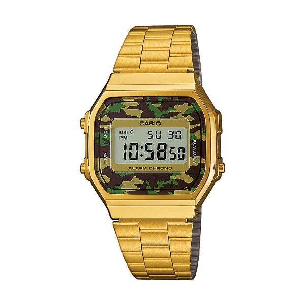 Relógio CASIO Vintage Iconic Dourado A168WEGC-3EF