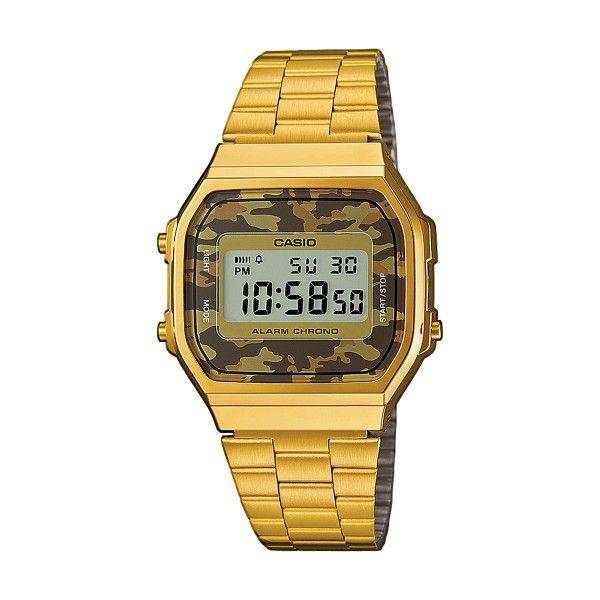 Relógio CASIO CC Retro Dourado A168WEGC-5EF