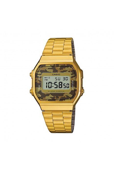 Relógio CASIO CC Retro Dourado