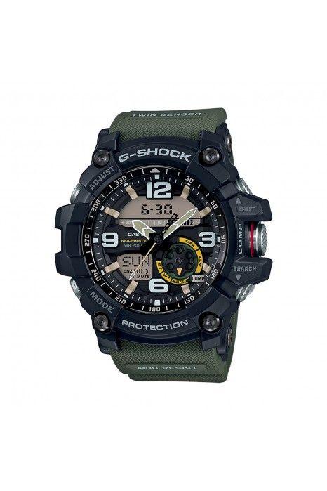 Relógio CASIO G-SHOCK Mudmaster Verde