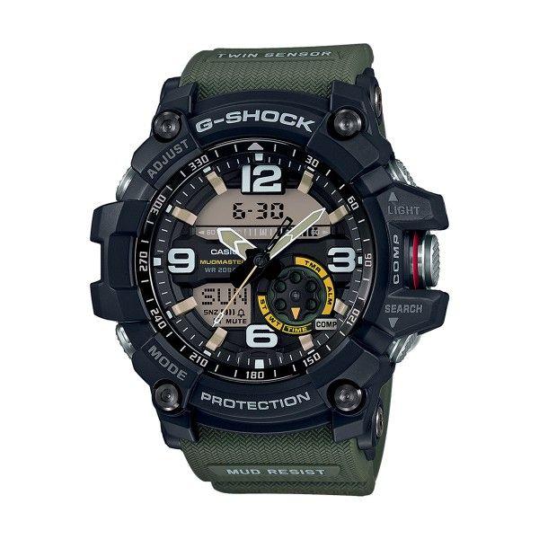 Relógio CASIO G-SHOCK Mudmaster Verde GG-1000-1A3ER