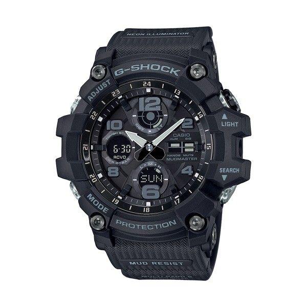 Relógio CASIO G-SHOCK Mudmaster Preto GWG-100-1AER