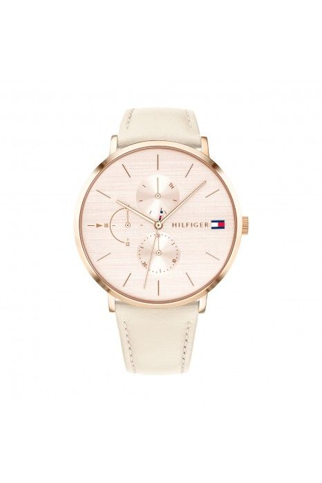 Relógio TOMMY HILFIGER Jenna Mesh Ouro Rosa