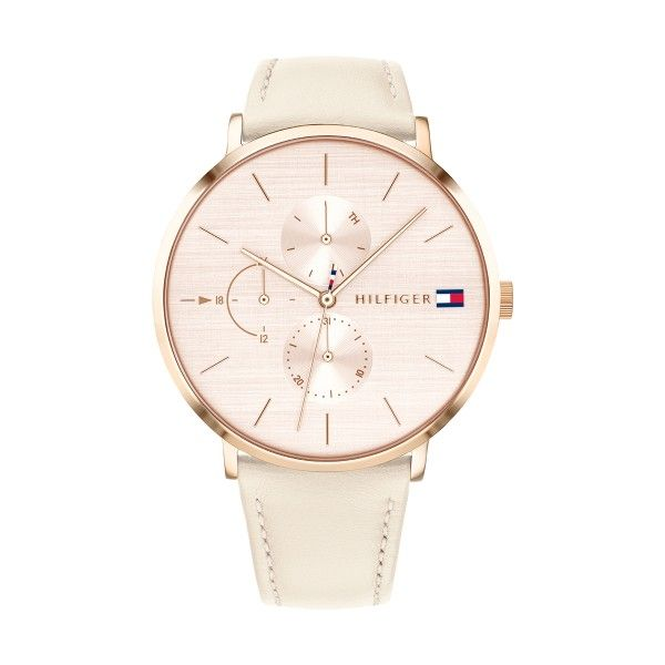 Relógio TOMMY HILFIGER Jenna Mesh Ouro Rosa 1781948