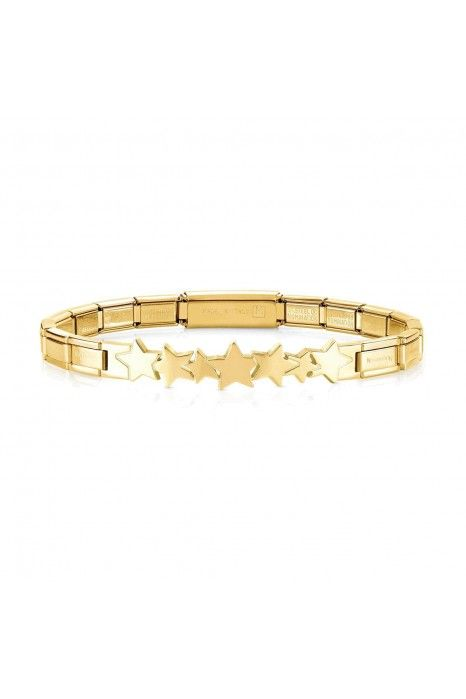 Pulseira NOMINATION Trendsetter Estrelas Dourada