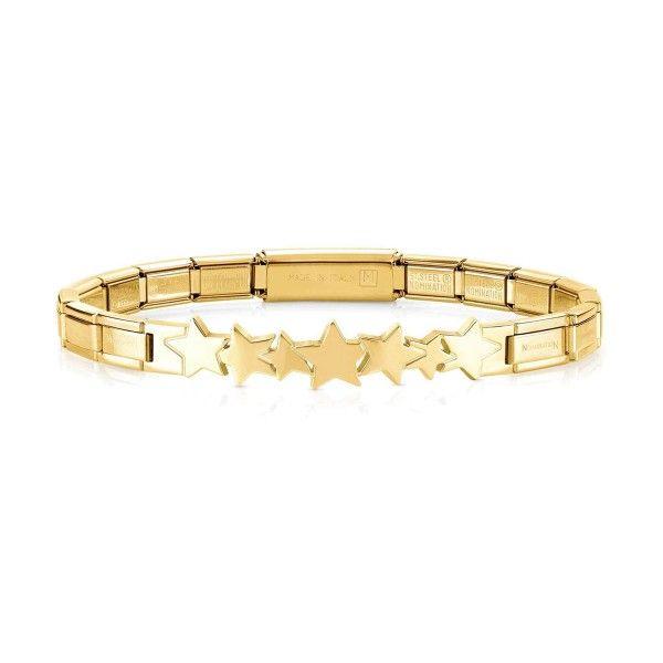 Pulseira NOMINATION Trendsetter Estrelas Dourada 021111-005
