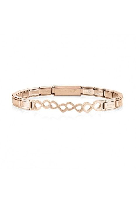 Pulseira NOMINATION Trendsetter Infinitos Ouro Rosa