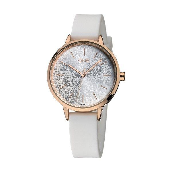 Relógio ONE Lace Branco OM1947BB82T