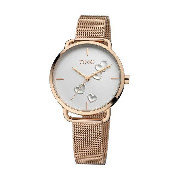 Relógio ONE Love Ouro Rosa  2019 - Edição Dia dos Namorados OL6862BR91O
