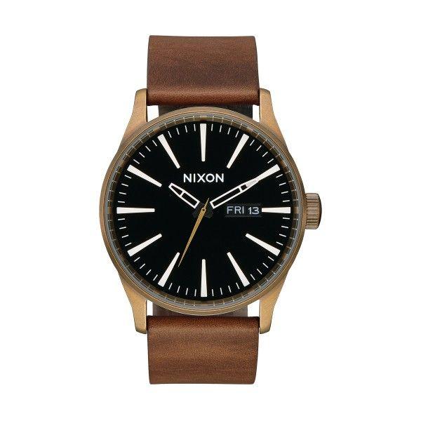 Relógio NIXON Sentry Castanho A105-3053