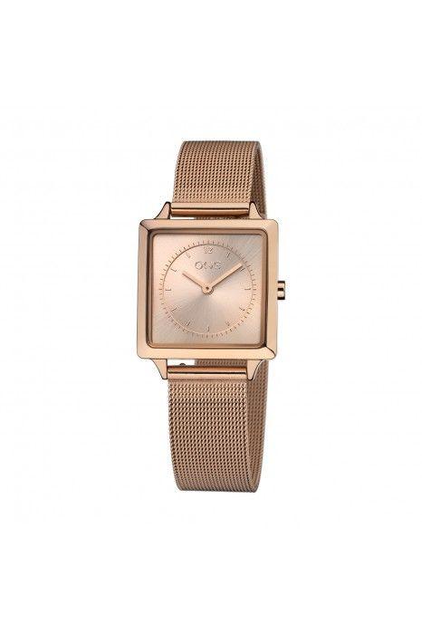 Relógio ONE Form Ouro Rosa