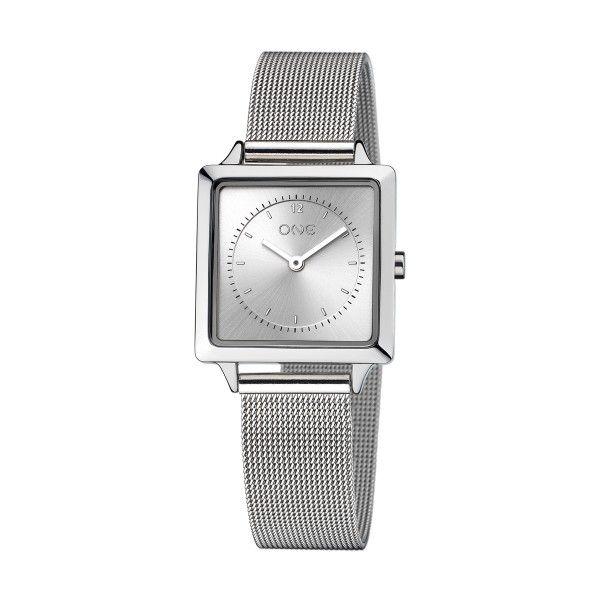 Relógio ONE Form Prateado OL8211SS91L