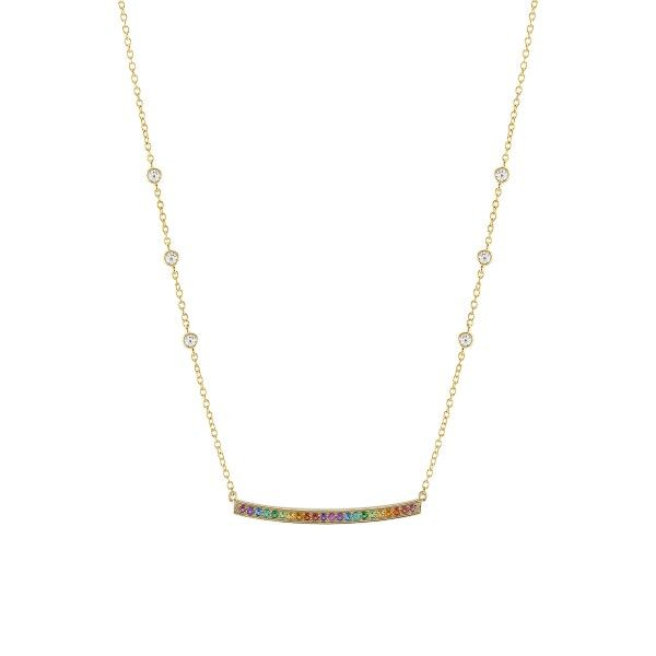 Colar UNIKE JEWELLERY Rainbow UK.CL.1204.0132