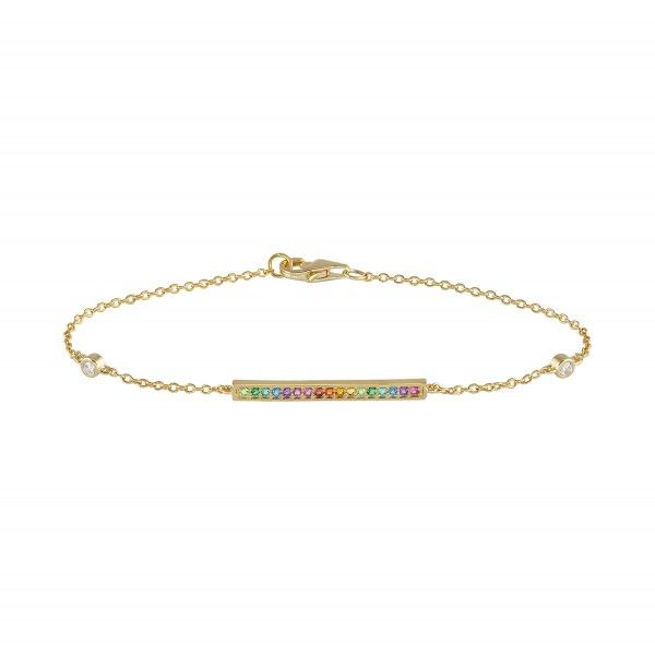 Pulseira UNIKE JEWELLERY Rainbow UK.PU.1204.0028