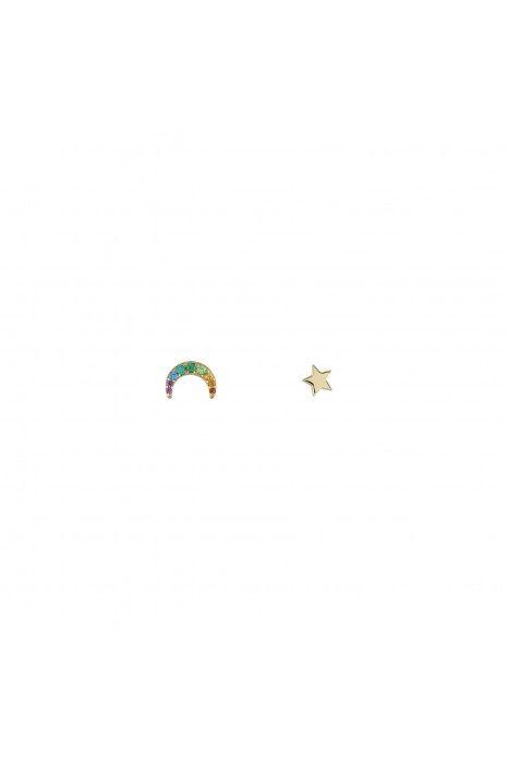 Brincos UNIKE JEWELLERY Rainbow