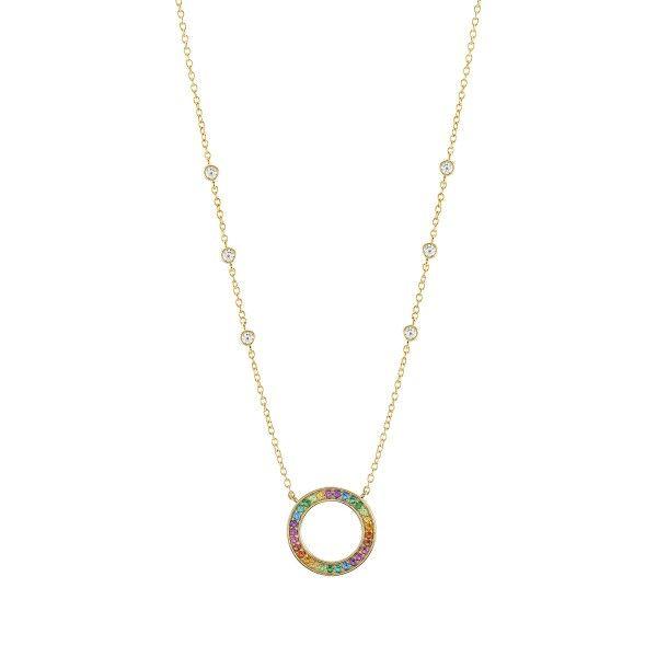 Colar UNIKE JEWELLERY Rainbow UK.CL.1204.0131