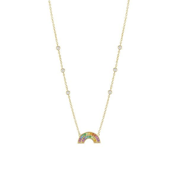Colar UNIKE JEWELLERY Rainbow UK.CL.1204.0133