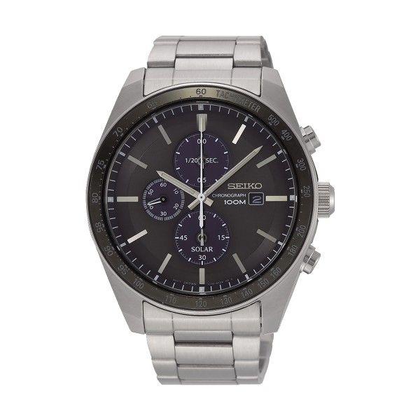 Relógio SEIKO Solar Prateado SSC715P1