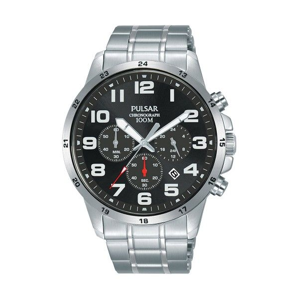 Relógio PULSAR Active Prateado PT3A03X1