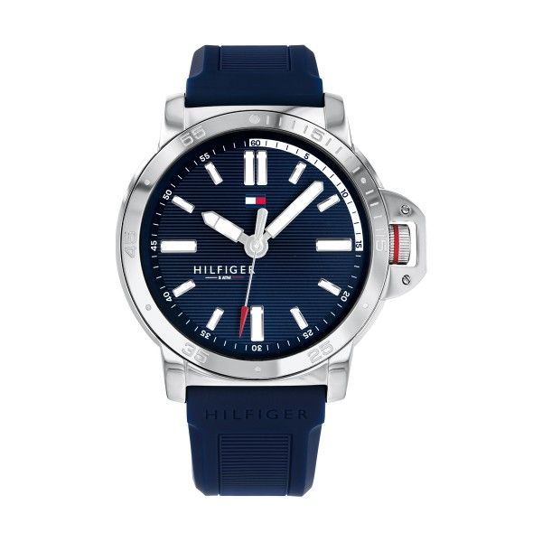 Relógio TOMMY HILFIGER Divers Prateado 1791588
