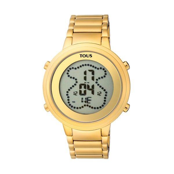 Relógio TOUS Digibear Dourado 900350035