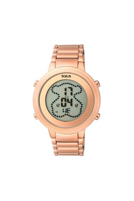 Relógio TOUS Digibear Ouro Rosa