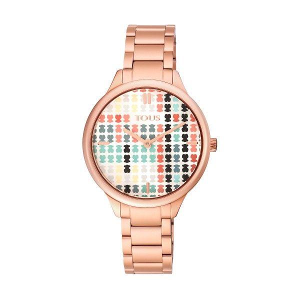 Relógio TOUS Tartan Ouro Rosa 900350095